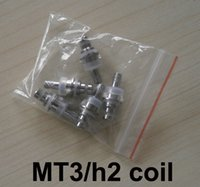 MT3 / H2 Reemplazable Atomizer Coil 1.8 2.4 2.8 Ohm Para MT3 H2 Cartomizer Clearomizer Reemplazo Detachable Core Head