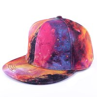 All'ingrosso-caldo 2015 SpringAutumn Caps Men Baseball Snapback Graffiti cotone Starry Sky Hip Hop Cappelli Donne cappelli correnti estate delle donne