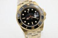Wholesale Digital Hands Watch - Luxury Watch Men's Watch Custom Watch 40MM Gold Luxury Collection AAA Watch, Sapphire Mirror Free Shipping