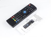 Wholesale computer remote keyboard - 10pcs MX3 2.4GHz Wireless Keyboard 3 in1 Air Fly Mouse QWERTY GYRO Sensing Remote IR Learning for Android TV Box COmputer