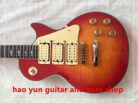 Wholesale Custom Ace - in stock Classic custom shop Ace frehley signature 3 pickups Electric Guitar, custom LP Figured Maple top guitar,Wholesale