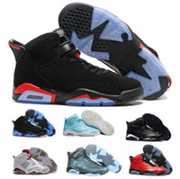 Wholesale Real Discount - Newes Retro 6 VI Basketball Shoes Women Men Real Replicas Man Retro Shoes 6s VI Hombre Outdoor Discount Basket Sneakers