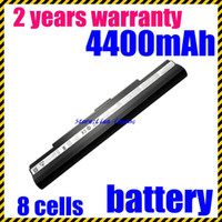 Wholesale Asus U35 - Free shipping- New 8Cells Laptop battery for Asus U30 U35 U45 UL30 UL30A UL50 UL80 UL80A Pro32 X5G A41-UL50 A41-UL80 A42-UL30 A42-UL50 A42-U
