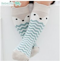squirrel fox - Cartoon Baby Sock Korean Fashion Squirrel Bunny Fox cat Boys Girls Stocking Knee High Socks Cotton kid s Socks Korean Children Socks XW068