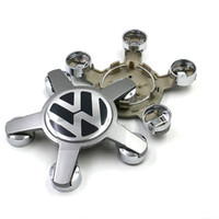 4pcs haute qualité / lot 135mm ABS Wheel Emblem Hub Centre Casquettes Logo Cover Car Center décorative pour VW Volkswagen