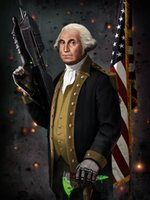 Wholesale Frame Original Oil Painting - George Washington The Original Master Chief Oil Paintings Art Print On Canvas No Frame. NO.S9