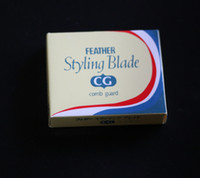 Wholesale hair cutting razor blades - 10 pieces  lot , feather styling blade Cut Special Razor Blades  Sharp blade for hair razor with removable blades
