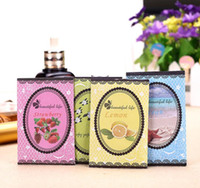 Wholesale Scented Sachets Wholesale - 10Pcs  Pack Aromatherapy Natural Smell Incense Wardrobe Sachet Air Fresh Refreshing Scent Bag Perfume Vanilla Lavender Rose Lily