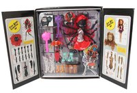 Wholesale Black Dolls Action Figures - 2016 new hot Dolls monster high family black Spider PVC doll Action Figures Polyarticular can be dismantle children kid gift girl toy