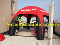 Wholesale 6m Inflatable tent for event advertising Promotions with CE UL blower