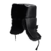Wholesale Warm Russian Hats For Men - New Winter Warm Bomber Hats for Men Women Caps Russian Trapper Snow Ski Caps Faux Fur Winter Hat