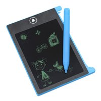 Wholesale 4 inch LCD Writing Tablet Board Electronic Small Blackboard Paperless Office Writing Board with Stylus Pens Cell button