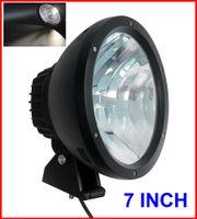 "Wholesale Xenon 25w - EMS 2PCS 7"" 50W CREE LED Driving Work Light 2-COB*25W CHIP Offroad SUV ATV 4WD 4x4 Spot Pencil Beam 12 24V 5000lm Xenon White 6K Replace HID"