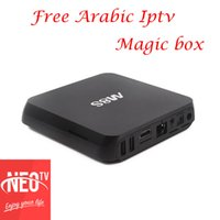 Box magic IPTV arabo 1800 canali 2000 film Neo pro MAG250 VLC M3U Smart TV Box Enigma2 MXQPRO