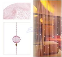 Wholesale String Curtain Panel Spangle Fringe Room Door Beads Window Divider Panel Blind