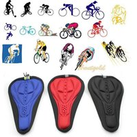 Wholesale Bike Seat Gel Cover - Cycling MTB Mountain Road Bicycle Breathable Cushion Saddle Bike Seat Cover Pad