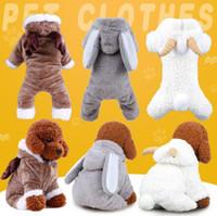 extra kleine hundebandanas großhandel-Winter Haustier Hund Kleidung Kostüm Kleidung für Hund Mäntel Chihuahua Kleidung für Kleine Tiere Hündchen Hoodie Cartoon Kleidung 30