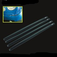 Wholesale Car Door Edge Protection Strips - Hypersonic 4PCS Car Door Edge Guards Trim Molding Protection Strip Scratch Protector Set Anti-Rub