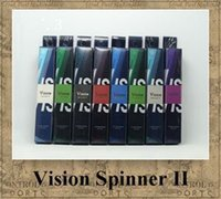 Vision Spinner 2 1600mAh batterie ego torsion 3.3V-4.8V Tension Variable E-Cigarette pour CE4 protank 3 clearomizer vente chaude