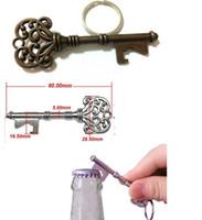 Wholesale Can Opener Key Chain - 10set HouseHolds Novelty Mini UK Suck KeyChain Key Chain Beer BottleOPENER Bottle Opener Coca Can Opening tool #Y185
