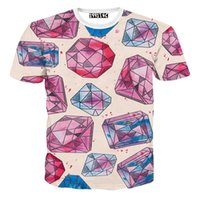 Wholesale Roupas Baseball - w1209 2015 Kawaii Unisex 3D Tshirt Men T Shirts Women Tops Emoji T-Shirt Short Feminino Roupas Baseball Shirt