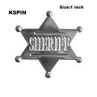 Wholesale free lapel pins resale online - Shriff Metal Badge Lapel Pin Pins XY0039