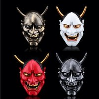 1pcs / lot Fox x слуга SS Anime Party Masks Resin Призрак Noh Mercy Halloween Mask Cosplay для коллекции