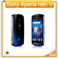 akıllı telefon için ücretsiz gps toptan satış-MT11 Orijinal Unlocked Sony Ericsson Xperia neo V MT11i Smartphone Android GPS WIFI Kamera 5MP 3.7