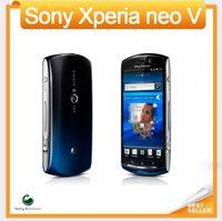 мобильные телефоны wifi android оптовых-MT11 Оригинал разблокирован Sony Ericsson Xperia neo V MT11i смартфон Android GPS WIFI камера 5MP 3.7