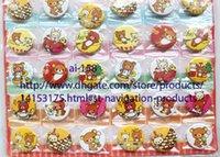 Wholesale Kids Novelty Backpacks - 20 sheets 960 pcs 3 cm Rilakkuma Novelty Cartoon Backpack Decorations Clothing Accessories Kid Gift Pin Badges Wholesale