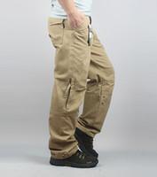 ingrosso pantaloni da escursionismo nero-All'ingrosso-2016 primavera pantaloni militari all'aperto uomini pantaloni cargo globale pantaloni esercito abbigliamento escursionismo nero verde giallo