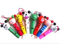 Wholesale educational toys enlighten Wooden Whistle building blocks sets child baby