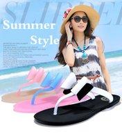 Wholesale Drag Platform Slippers - 2016 Summer Style Colorful Elegant Bowtie Flip Flops Sandal Slippers Flip Platform Beach for female Drag Women Shoes SY105