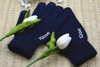 ingrosso guanti di tocco dello schermo di igloves-Con confezione al dettaglio Guanti capacitivi iGlove touch screen di alta qualità unisex per iphone 5 5C 5S per ipad smart phone iGloves guanti 2 pz = 1 lotto