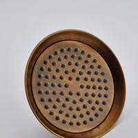 estilo clássico venda por atacado-Clássico Novo Estilo Frete Grátis Antique Bronze 8 polegadas Teto Cabeça de Chuveiro Chuvas Montado