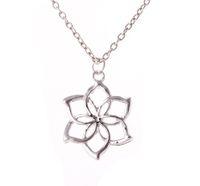 Wholesale Galadriel Silver - 2016 The Hobbit Necklace Surrounding Official Galadriel Colares Arrival Pendant Necklaces Gift Chain Silver Unexpected Journey ZJ-0903118