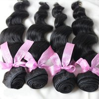 Wholesale Goddess Human Hair - Exotic Brand New Indian Body Wave Human Hair Weft for Hollywood Goddess,22'' Natural Looking Machine Double Weft Body Wave Virgin Hair Weave