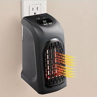 Wholesale Wall Electric Heaters - Portable Wall-Outlet Electric Fan Heater Handy Air Heater Warm Air Blower Room Fan Electric Radiator Warmer for Office Home