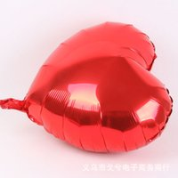Wholesale wholesale heart foil balloon - Foreign trade selling 18-inch heart-shaped balloon love balloon foil balloon advertising balloon balloon