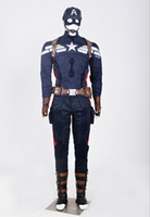 Wholesale Heroes Theme - 2015 new The captain American cosplay customs suits Flashmen The Avengers sets Cosplay fashion Deadpool Marvel theme costume