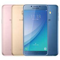 Wholesale Mobile C5 - Refurbished Original Samsung Galaxy C5 Pro C5010 5.2 inch Octa Core 4GB RAM 64GB ROM 16MP Dual SIM 4G LTE Android Smart Mobile Phone DHL 1pc