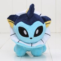 15cm Game Japanese Anime Cartoon Pocket Pikachu Peluche Jouet Vaporeon Farce Peluche Peluche Bon cadeau enfants