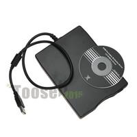 "Wholesale External Usb Floppy - Free Shipping Brand New 3.5"" External USB 2.0 Portable 1.44Mb USB Floppy Disk Drive Emulator"