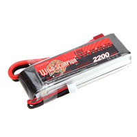 Wholesale Max Car Battery - Brand Wild Scorpion Lipo Battery 3S 11.1V 2200mAh 30C MAX 40C T Plug for RC Car Airplane T-REX450 Helicopter Part order<$18no track