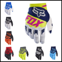 Wholesale Winter Cycling Gloves - 2017 Version 9 Colors FOX Cycling Gloves Dirtpaw Rockstar Winter Warm Full Finger Gloves for Ski Bike Snowboard