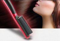 Wholesale straightening iron brands for sale - Brand New ASL Hair Straightener Hair Straighten Comb Tourmaline Ceramic Iron Kingdom Brand rofessional Straightening Irons