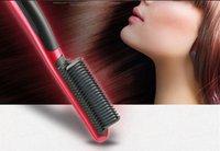 fer à lisser en céramique marques achat en gros de-Brand New ASL-908 Lisseur Cheveux Lisser Peigne Tourmaline Céramique Fer Royaume Marque rofessional Fers À Défriser
