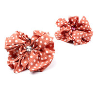 Wholesale Hair Jaw Clips Bows - FG1509 Korean Beauty dot Bow Jaw Clip Women Barrette Hair Claw Claws women Hair Accessories Lowest wholesale