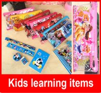 Wholesale Stationery Pencil For Children - Frozen stationery set for Students children stationery Frozen Pencil Cases Frozen Bags Frozen Ruler Frozen Pencilsr
