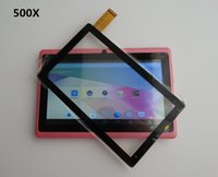 """Wholesale Touch Panel For Q88 - 500pcs 7"""" Capacitive Touch Screen Digitizer Panel for 7 inch Allwinner A13 A23 A33 ATM7021 ATM7029 Q8 Q88 Tablet PC 1-TP"""